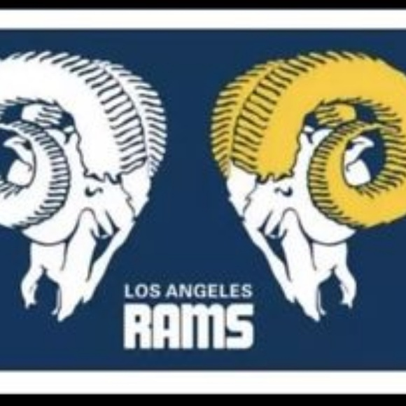 191f6377 Los Angeles Rams Retro 3x5 Foot Flag NWT